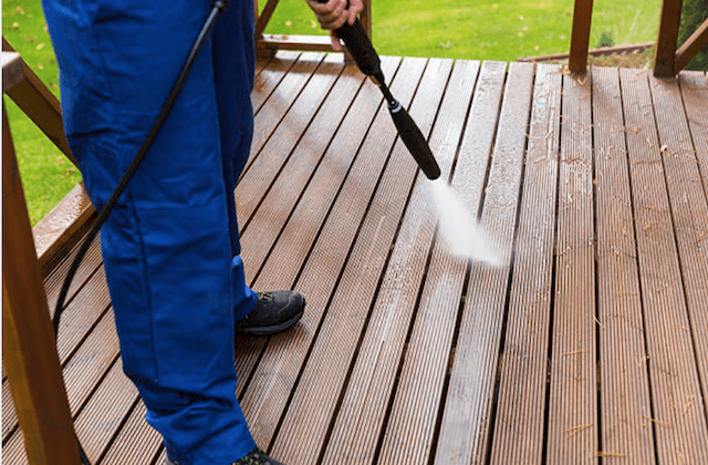 deck cleaning wilmington