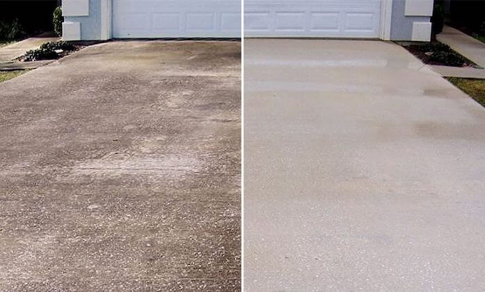 wilmington driveway cleaning